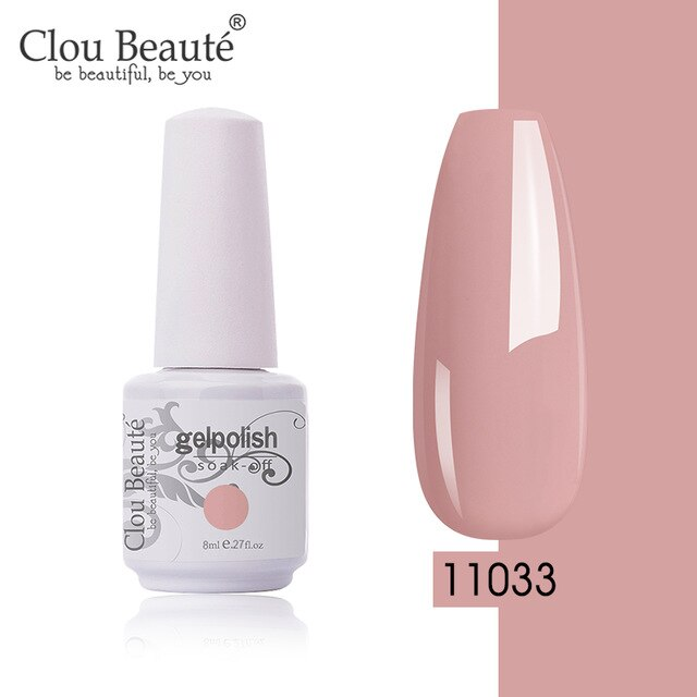 Gel Polish lakiery hybrydowe vernis semi permanant uv Yellow Pink Color Nail Gel Base And Top Coat Long Lasting Gel Lacquer