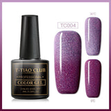 Temperature Change Top Coat UV Gel Varnish Gradient Colorful Lacquer Enamel Chameleon Top Coat Gel Thermo Gel Nail Polish
