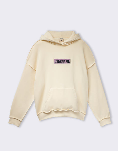 Hoodie Sable Patch Logo - USERNAME