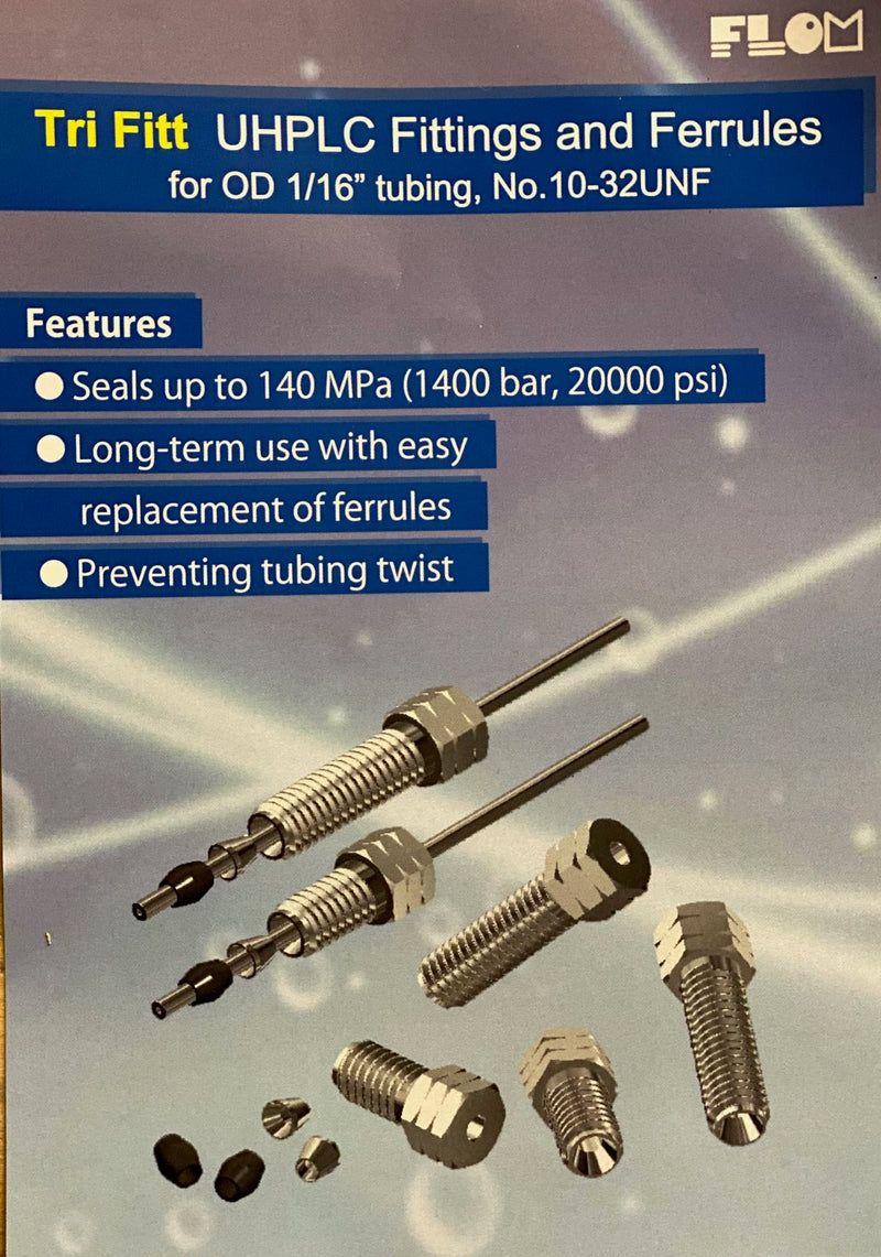 Tri-Fitt High Pressure uHPLC Fittings