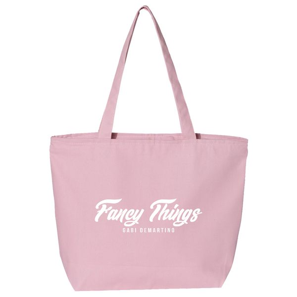 FANCY THINGS TOTE / PINK
