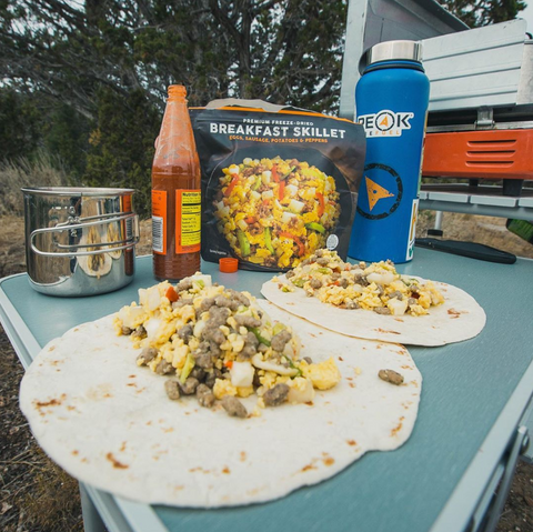 Peak Refuel Freeze-Dried Backpacking Food