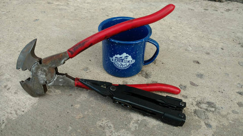 Fencing pliers vs leatherman for trail riding