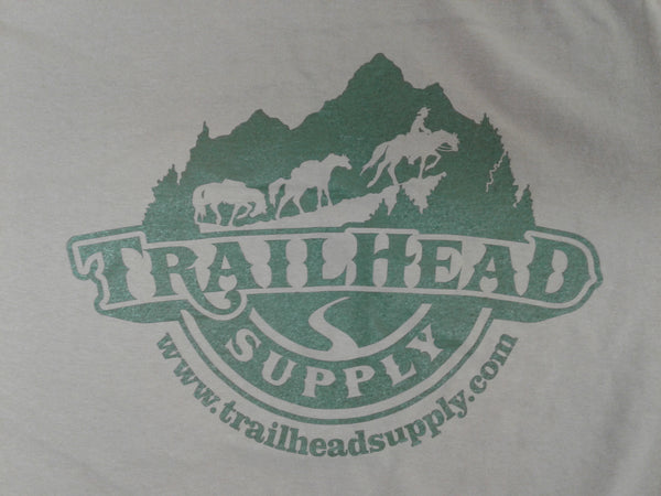 Trailhead Supply Tan Long Sleeve T-Shirt