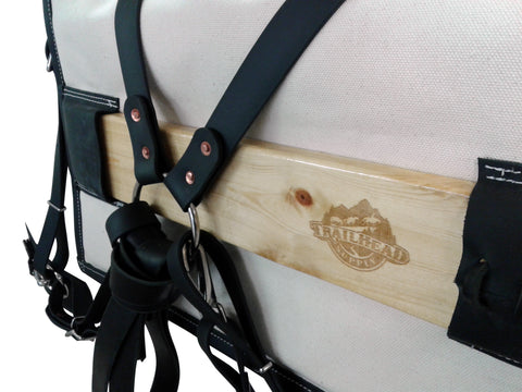 Trailhead Supply's BioThane Traditional Decker Pack Saddle