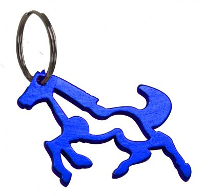 Horse Keychain and Bottle Opener