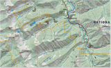 Bob Marshall Wilderness North Half Map