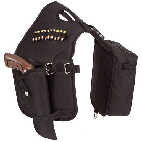 Cordura Horn Bags with Detachable Holster by Colorado Saddlery