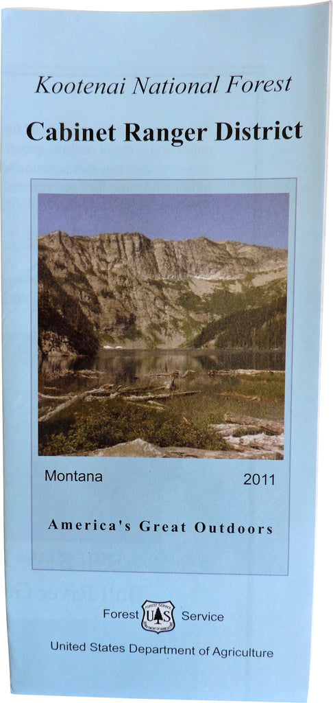 Cabinet Ranger District Map | Kootenai National Forest Visitors ...