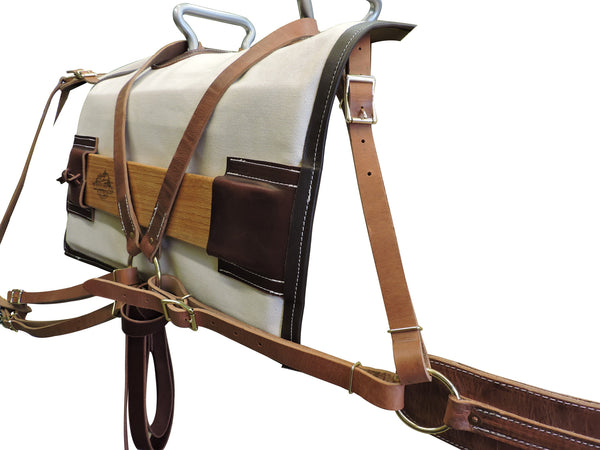 Trailhead Supply's Modified Decker Pack Saddle