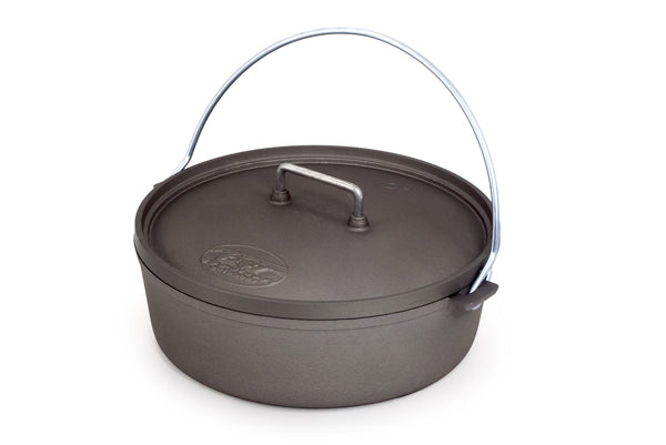 "GSI 10"" Hard Anodized Aluminum Dutch Oven"