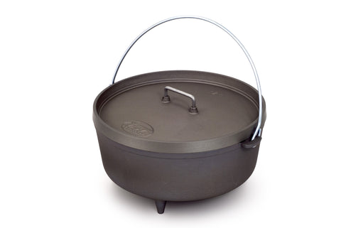 "GSI 12"" Hard Anodized Aluminum Dutch Oven"