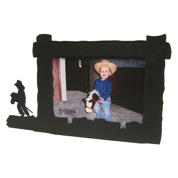 Little Girl Stick Pony 4x6 Horizontal Picture Frame