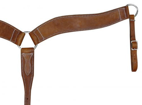 Harness Leather Contour Breast Collar