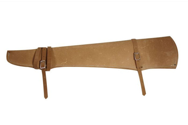 Rough Out Leather Rifle Scabbard