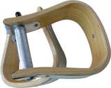 Child Sized Wooden Stirrups