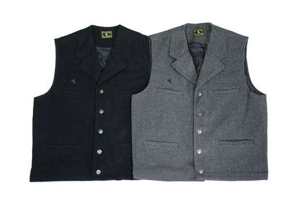 Men's Buckaroo Wool Vest