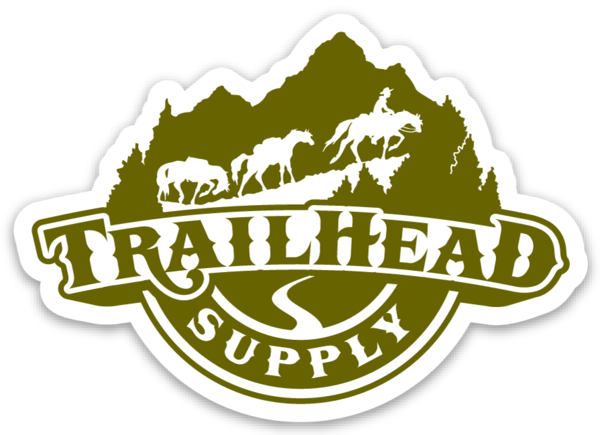 Trailhead Supply Large Sticker