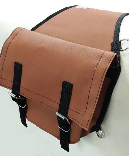 Iron Cloth Saddle Bags