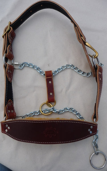 Leather And Chain Mule Halter Trailhead Supply