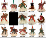 Horse Hair Christmas Ornaments