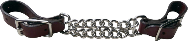 Double Chain Curb Strap 4 1/2""