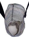 Mesh Feed Bag With Canvas Bottom