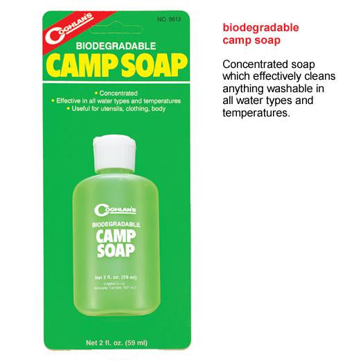Biodegradable Camp Soap 2oz