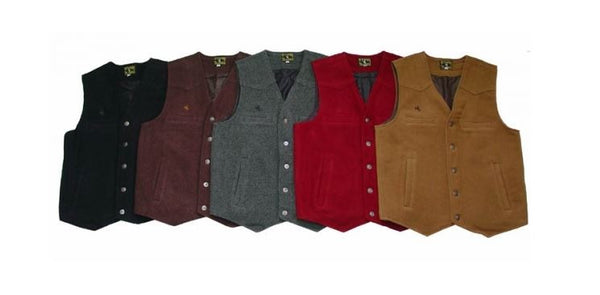 Men's Wyoming Wool Vest (Assorted Colors)