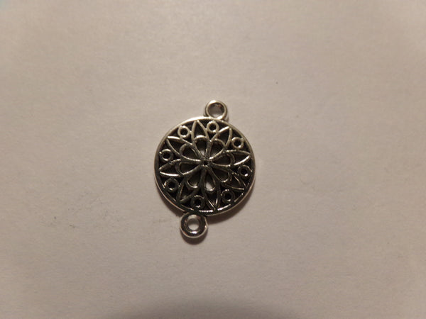 Round Filigree Connector