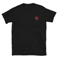 Embroidered Red Soundplate Logo Unisex T-Shirt