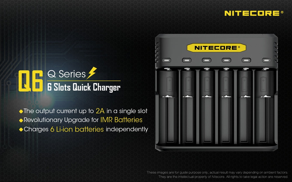 Nitecore Q6 Battery Charger