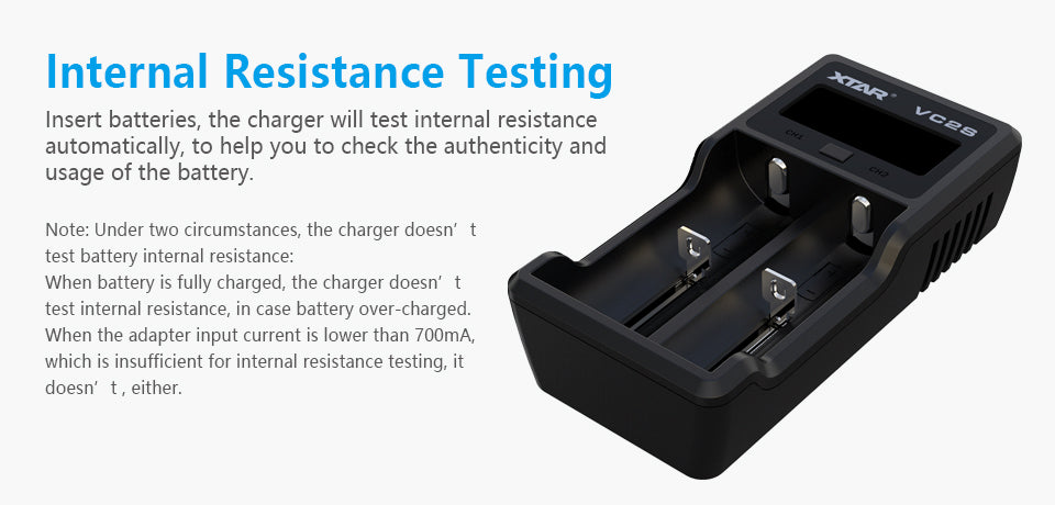 Xtar VC2S Battery Charger
