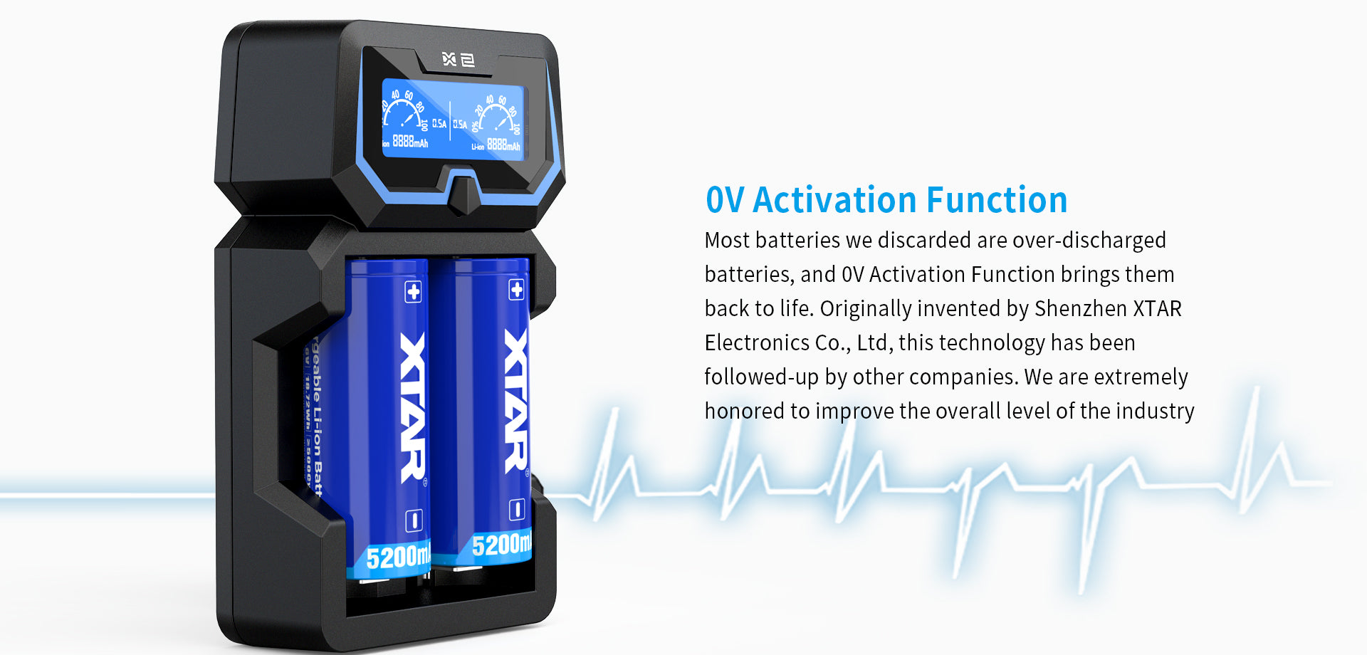 Xtar X2 Battery Charger