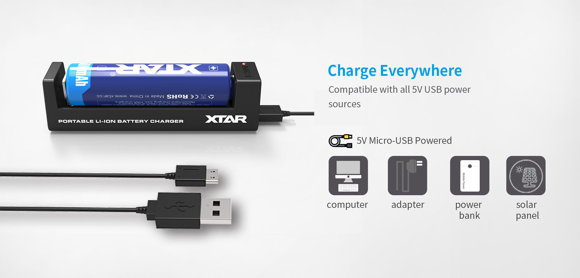 Xtar MC1 Battery Charger