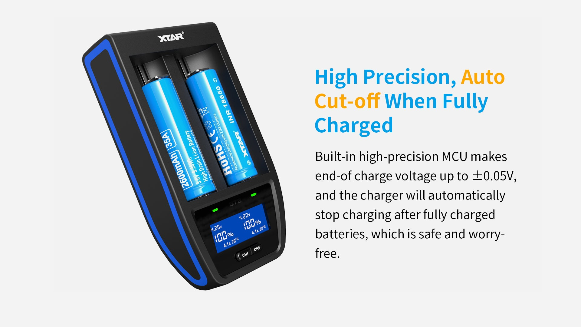 Xtar ST2 Battery Charger