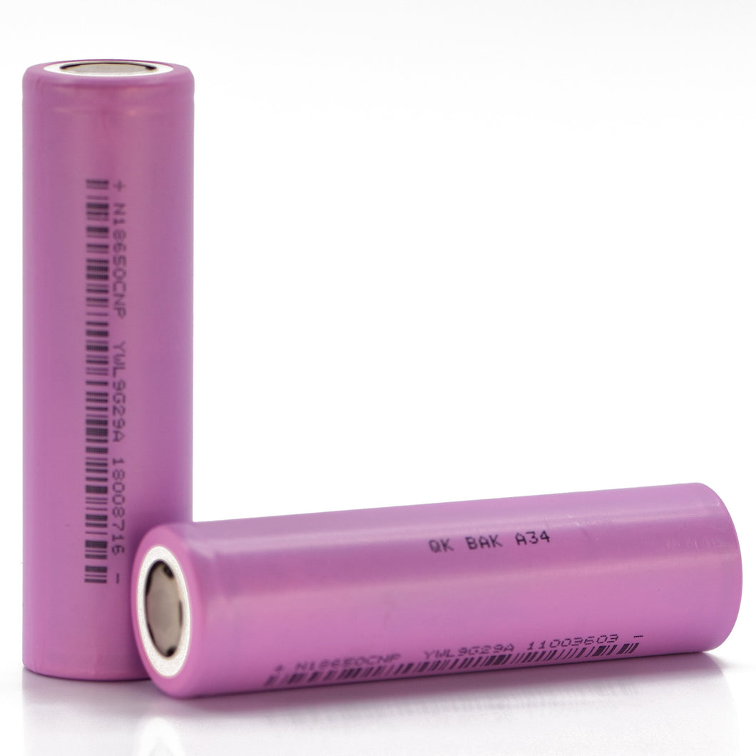BAK 18650 2500mAh 30A Battery (N18650CNP)