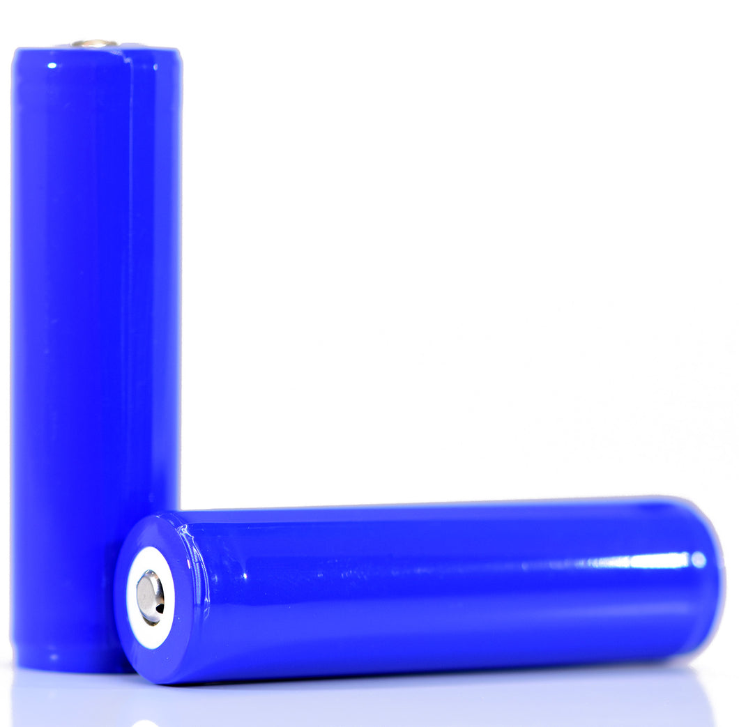 Samsung 30Q 18650 3000mAh 15A - Protected Button Top Battery (Blue Wrap)