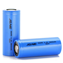 Load image into Gallery viewer, JGNE 3.2V 26650 3800mAh 11.4A LiFePO4 Battery
