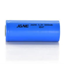 Load image into Gallery viewer, JGNE 3.2V 26650 3000mAh 30A LiFePO4 Battery
