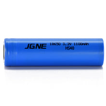 Load image into Gallery viewer, JGNE 3.2V 18650 1100mAh 33A LiFePO4 Battery