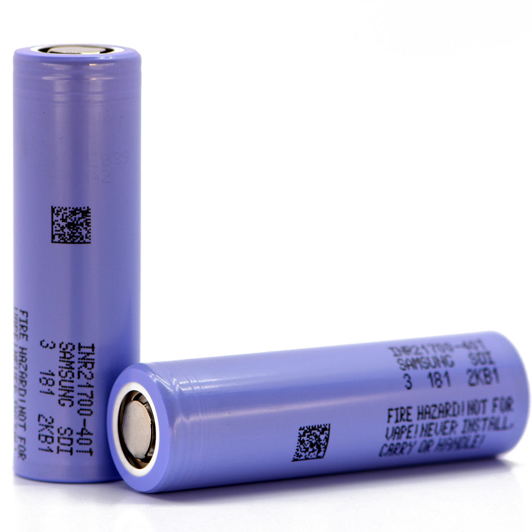 Samsung 40T 21700 4000mAh 35A Battery (40T3)