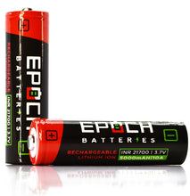Load image into Gallery viewer, Epoch 21700 5000mAh 10A - Button Top Battery (50G)