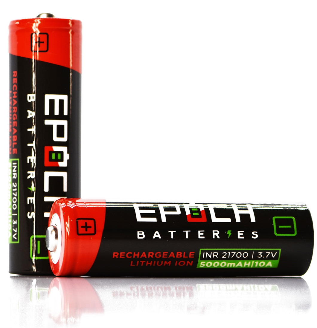 Epoch 21700 5000mAh 10A - Button Top Battery (50G)