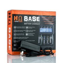 Load image into Gallery viewer, Hohm Tech Base 4 Bay Digital Battery Charger