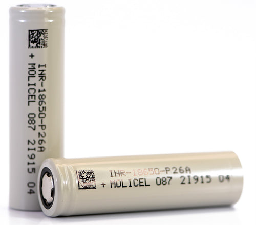 Molicel P26A 18650 2600mAh 35A Battery