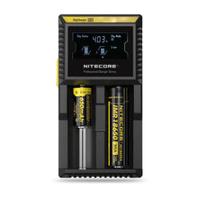 Load image into Gallery viewer, Nitecore D2 - 2 Bay Digital Battery Charger