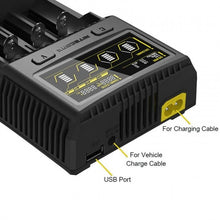 Load image into Gallery viewer, Nitecore SC4 - 4 Bay Superb Battery Charger