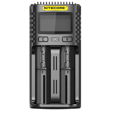 Load image into Gallery viewer, Nitecore UM2 Digital LCD Battery Charger
