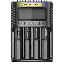 Load image into Gallery viewer, Nitecore UM4 4 Bay Digital LCD Battery Charger